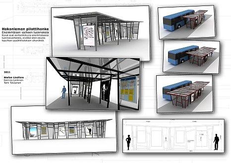 Проект остановка общественного транспорта