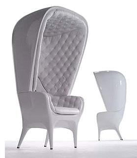 Кресло с высокой спинкой спб